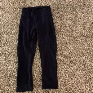 Lululemon crops leggings pants size 4 small